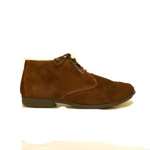 B.O.C. Born suede lace up oxfords